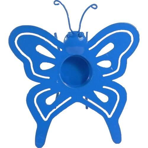 Butterfly Tealight Holder Blue