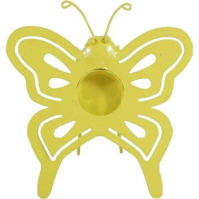 Butterfly Tealight Holder Orange