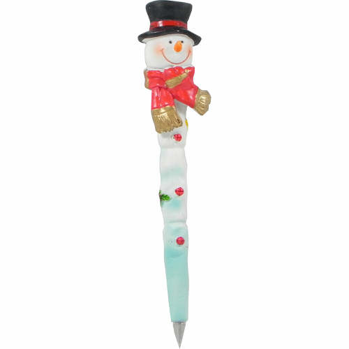 Fully Decorated Snowman Pen