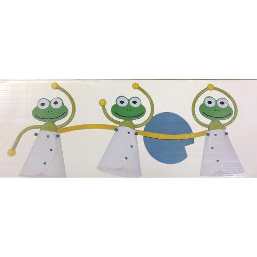 LSE Children's Frog Non Electric 3 Bulb Ceiling Light Shade 57cm