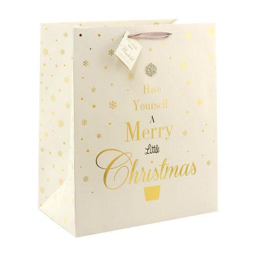 Jewelled Christmas Gift Bag Large
