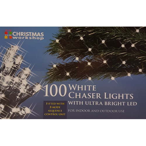 indooroutdoor 100 led warm white chaser lights with sequencer