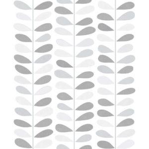 Debona Jasmine Glitter Wallpaper 6999 Grey Sample
