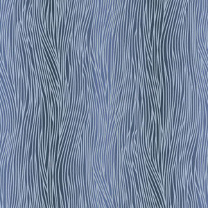 AS Creation Oasis Blown Vinyl Wallpaper Stripe Petrol Blue 32473-3 Sample