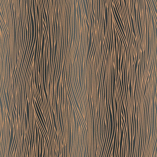 AS Creation Oasis Blown Vinyl Wallpaper Stripe Rose Gold 32473-4 Sample