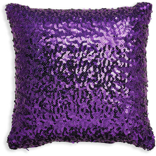 30x30cm Sparkle Purple Sequin Cushion 008328