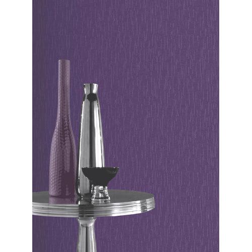 Glitterati Plain Purple Glitter Vinyl Wallpaper 892205 Full Roll