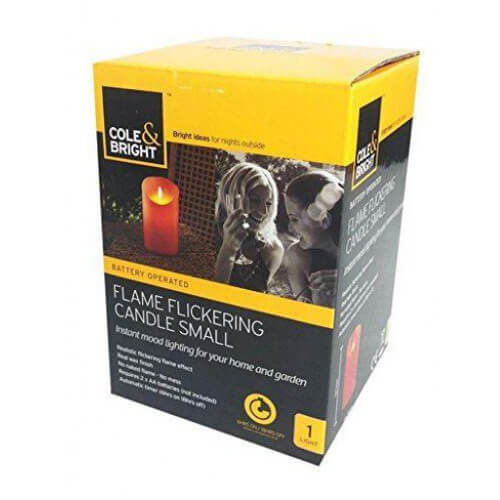 Flame Flickering LED Candle Cream