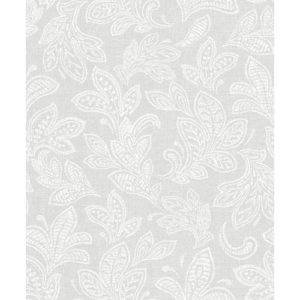 CWV Wallpaper Calico Leaf Grey M1118 Sample