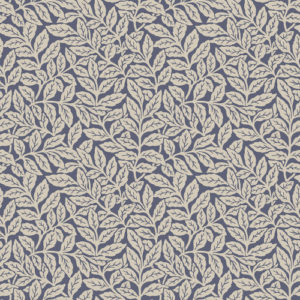 Crown Wallcoverings Ash Branch Wallpaper Blue M1182 Sample