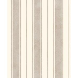 Fine Decor Wentworth Glitter Wallpaper Stripe Cream & Gold FD41707 Sample