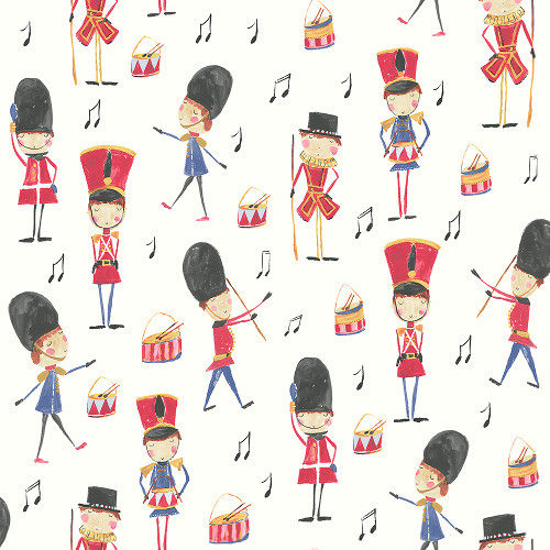 Arthouse Imagine Fun Wallpaper Drummer Boy Red 696003 Full Roll