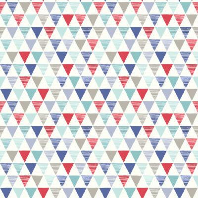 Arthouse Imagine Fun Wallpaper Jester Red/Blue 696007 Full Roll
