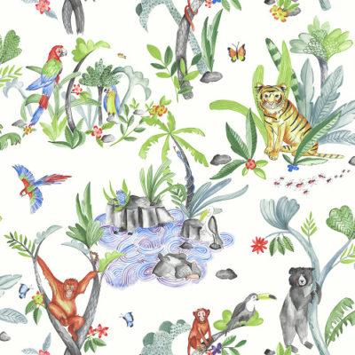 Arthouse Imagine Fun Wallpaper Jungle Mania Multi 696008 Full Roll