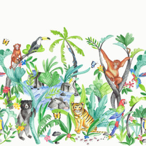 Arthouse Imagine Fun Wallpaper Frieze Jungle Mania 696300