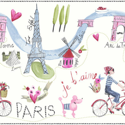 Arthouse Imagine Fun Wallpaper Frieze Paris with Love 696302