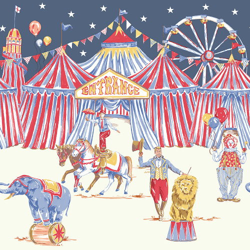 Arthouse Imagine Fun Wallpaper Frieze Circus Fun 696304