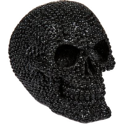 Bling Metal Skull Gold
