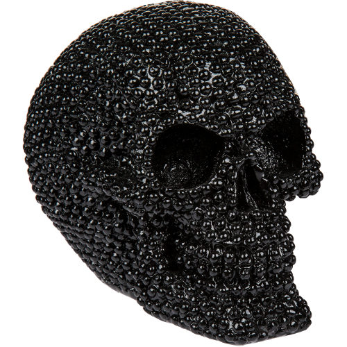 Bling Metal Skull Gold