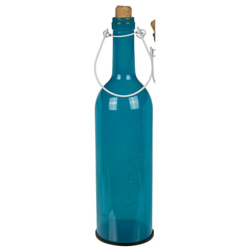 "12"" Light Up Pastel Wine Bottle Blue"