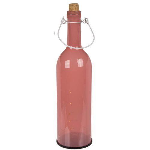"""12"""" Light Up Pastel Wine Bottle Pink"""