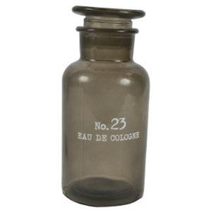 Eau De Cologne Storage Bottle Grey