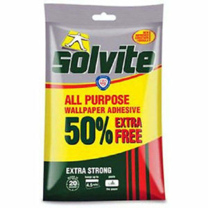 Solvite Wallpaper Paste 10 Roll