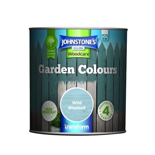 Johnstones Woodcare Garden Colours Wild Bluebell 1 Litre