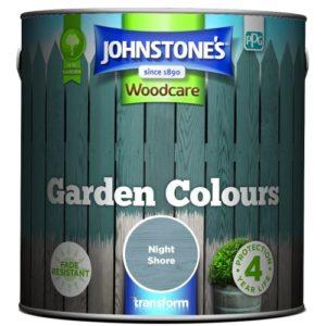 Johnstones Woodcare Garden Colours Night Shore 2.5 Litre