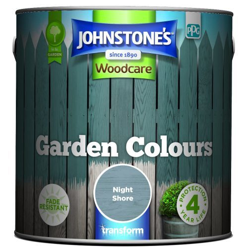 Johnstones Woodcare Garden Colours Night Shore 2.5 Litre
