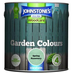 Johnstones Woodcare Garden Colours Spring Rosemary 2.5 Litre