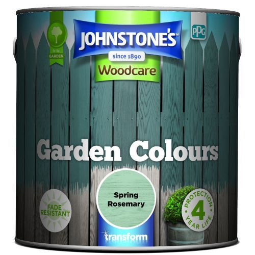 Johnstones Woodcare Garden Colours Spring Rosemary 2.5 Litre