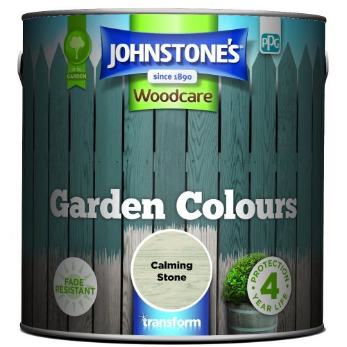 Johnstones Woodcare Garden Colours Calming Stone 2.5 Litre