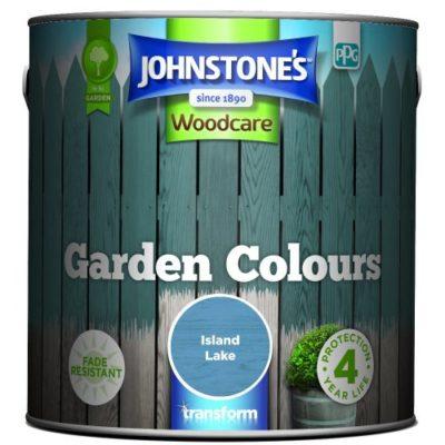 Johnstones Woodcare Garden Colours Island Lake 2.5 Litre