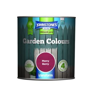 Johnstones Woodcare Garden Colours Merry Berry 1 Litre