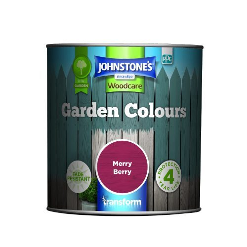 Johnstones Woodcare Garden Colours Merry Berry 1 Litre