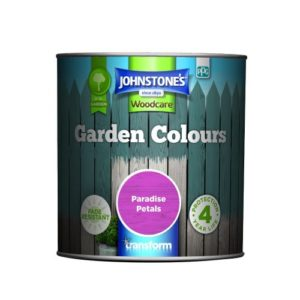 Johnstones Woodcare Garden Colours Paradise Petals 1 Litre