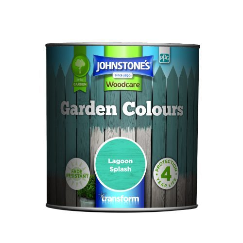 Johnstones Woodcare Garden Colours Lagoon Splash 1 Litre
