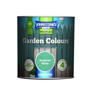 Johnstones Woodcare Garden Colours Seagreen Spray 1 Litre