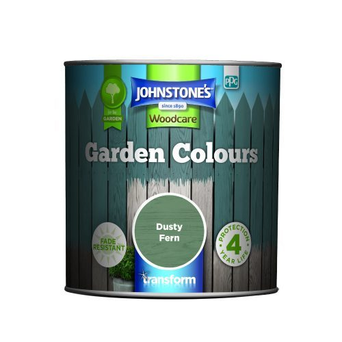 Johnstones Woodcare Garden Colours Dusty Fern 1 Litre