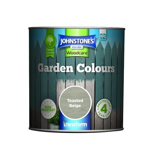 Johnstones Woodcare Garden Colours Toasted Beige 1 Litre