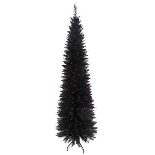 Slim Line 6ft Christmas Tree in Black