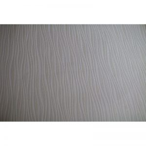 P+S Luxury Blown Vinyl Wave Wallpaper Cream 13589-20 A4 Sample
