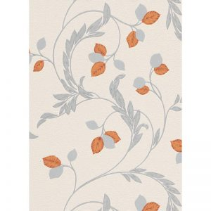 Erismann Shimmer Blown Vinyl Wallpaper Terracotta 9782-04 A4 Sample