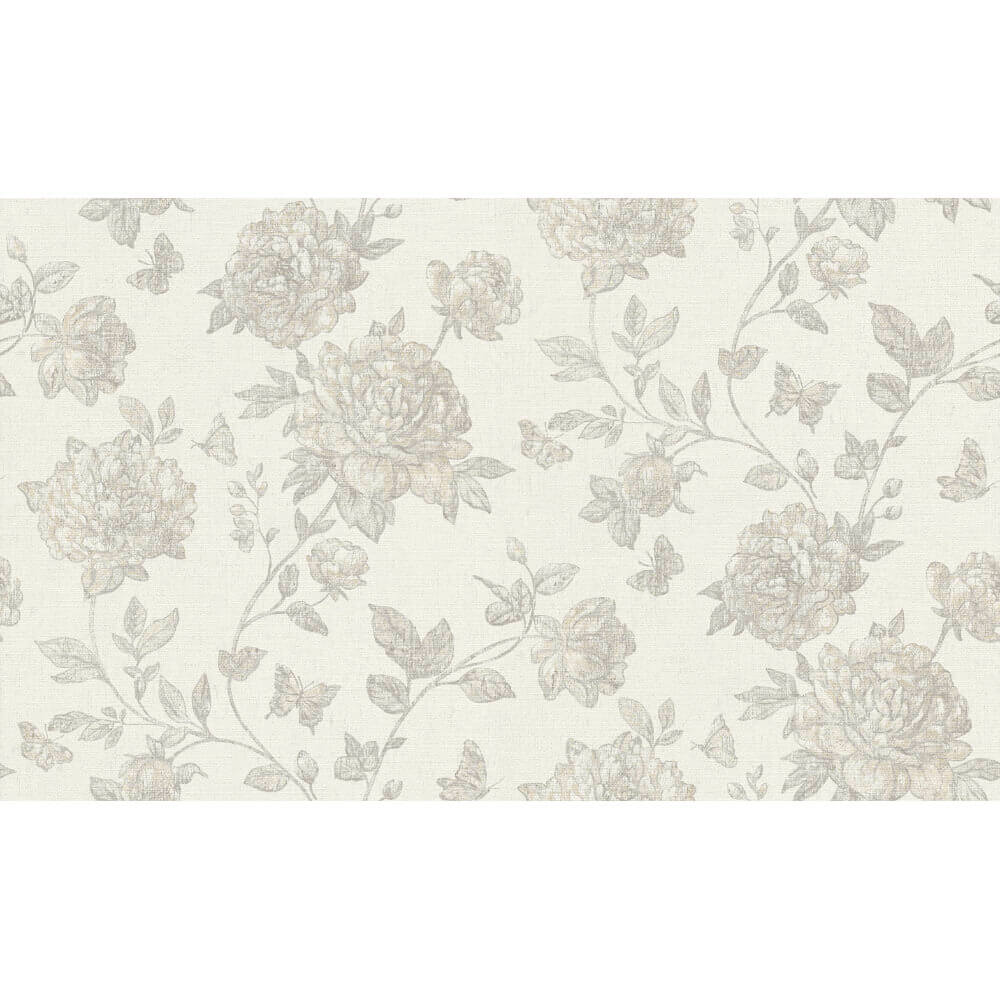 Erismann Vintage Wallpaper Grey 6335 31 Full Roll