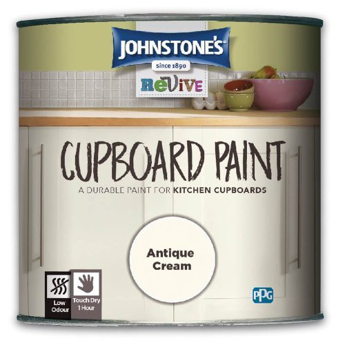 750ml Johnstones Revive Cupboard Paint Antique Cream