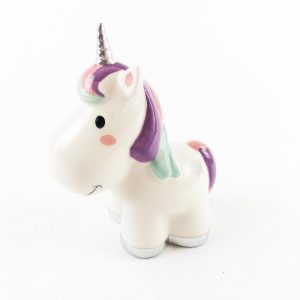 Unicorn Money Box Lilac