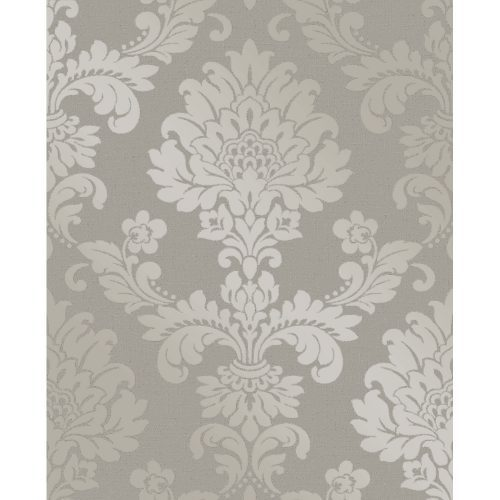 Fine Decor Wallpaper Quartz Damask Pewter FD41975 Sample