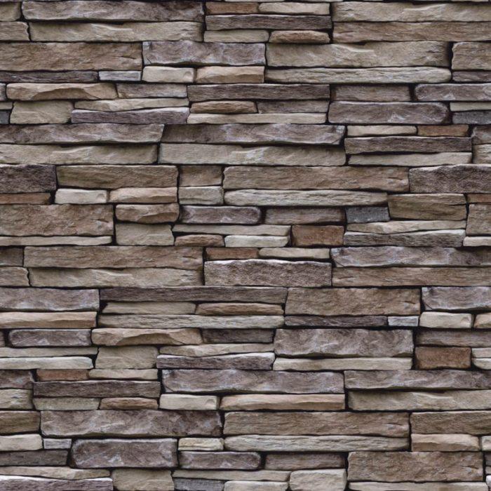 Holden Decor K2 Wallpaper Stone Effect Natural 12260 Sample