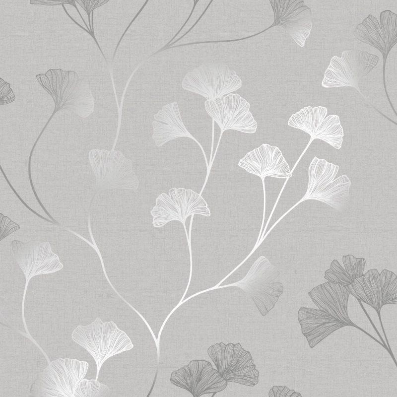 Holden Decor Statement Wallpaper Glistening Glinko Grey Silver 12700